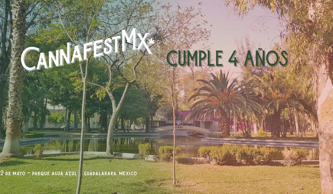 Cannafest MX cumple cuatro años